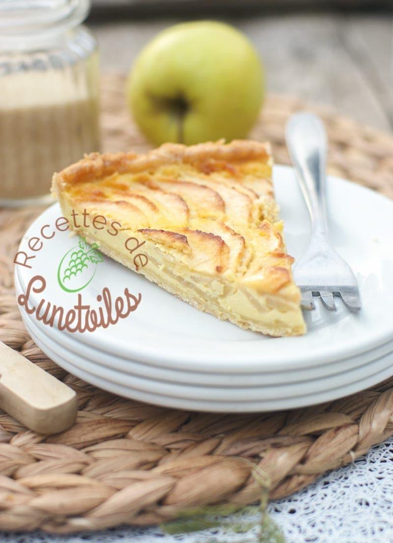 Tarte aux pommes au mascarpone amour de cuisine - Cuisine au mascarpone ...