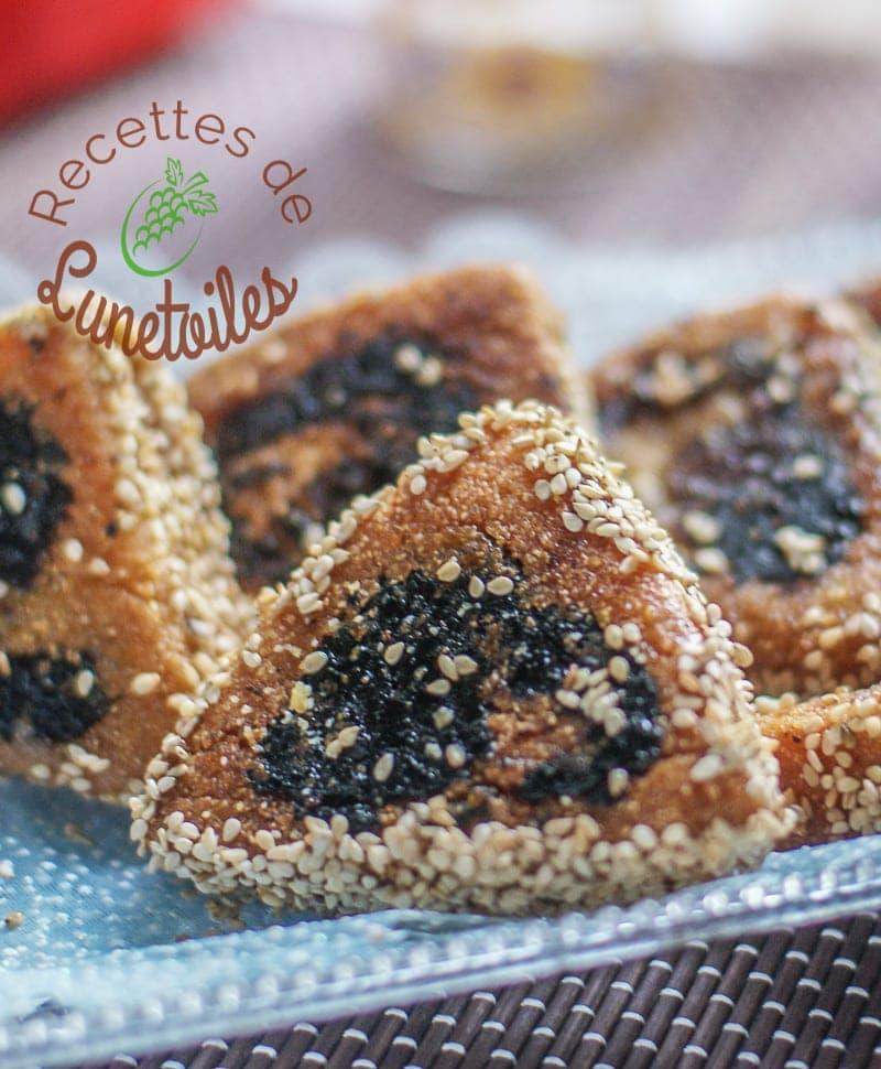 Triangles de makrout roul aux dattes amour de cuisine for Amour de cuisine arabe