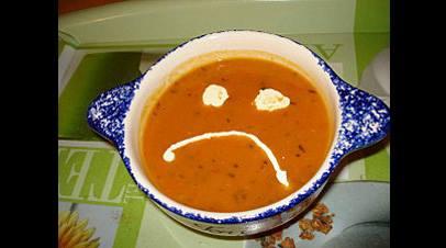 soupe de grimace