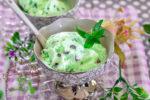 creme glacée à la menthe sans sorbetiere