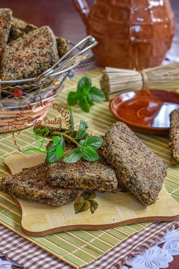 galette kabyle à la menthe 1