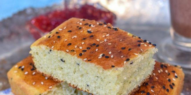 khobz dar sans petrissage / pain maison