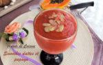 smoothie dattes et papaya