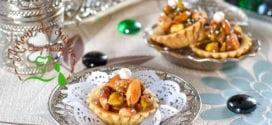 Tartelettes aux fruits secs caramel au beurre salé