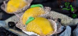 citron à la pate d'amandes