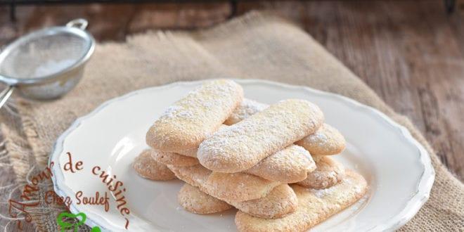 biscuits à la cuillère facile