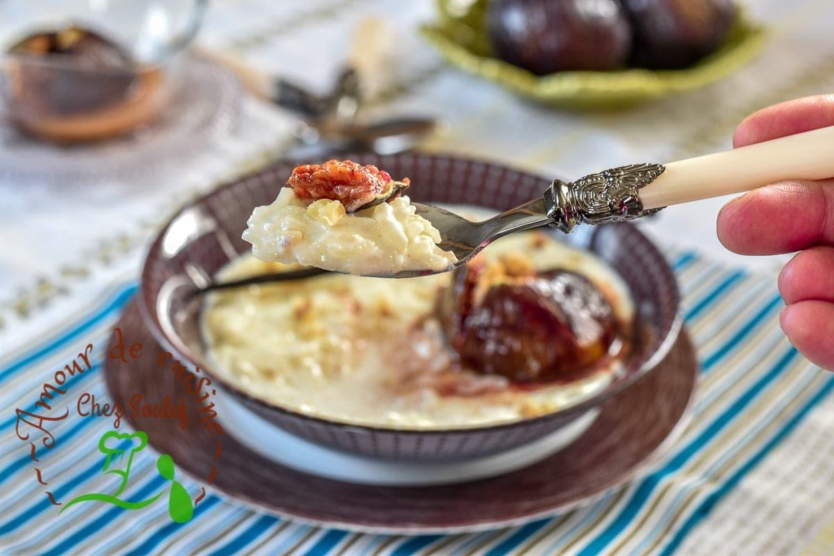 creme de riz aux figues roties 2