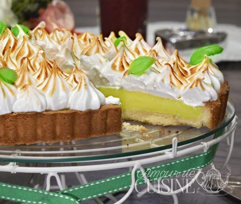tarte au citron à la meringue