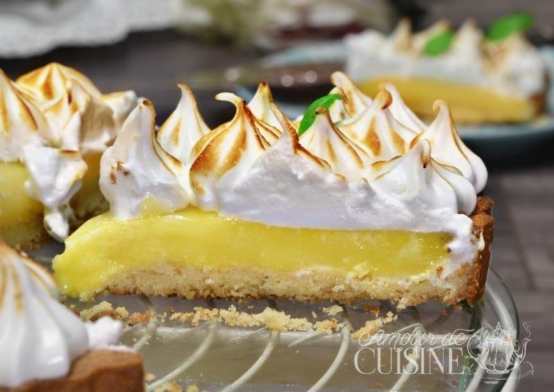 Tarte Au Citron Meringuée Amour De Cuisine