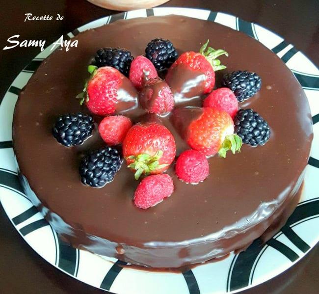 Gateau au chocolat facile amour de cuisine for Amour de cuisine de sihem