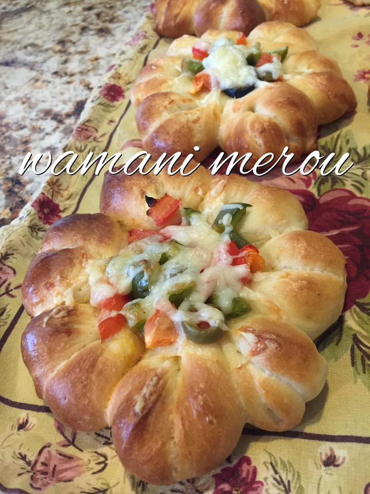 Mini pizza soleil amour de cuisine for Soleil en cuisine