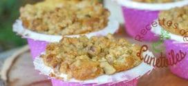 muffins pomme érable et crumble aux noix