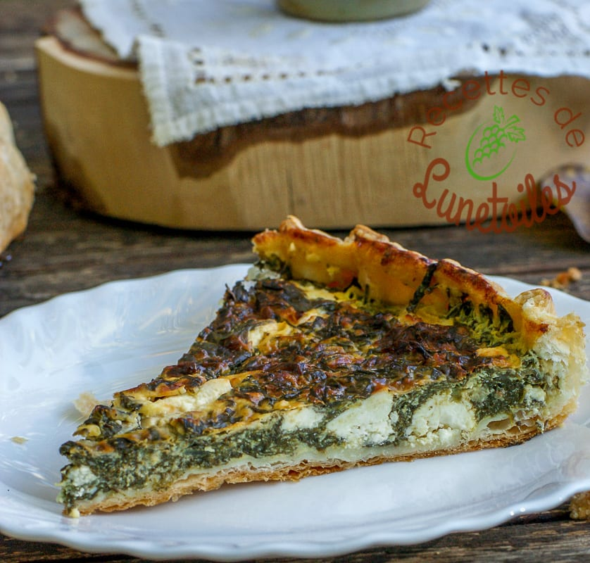 tarte aux epinards facile