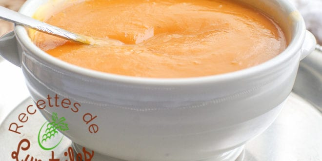 potage courge butternut carottes patate douce