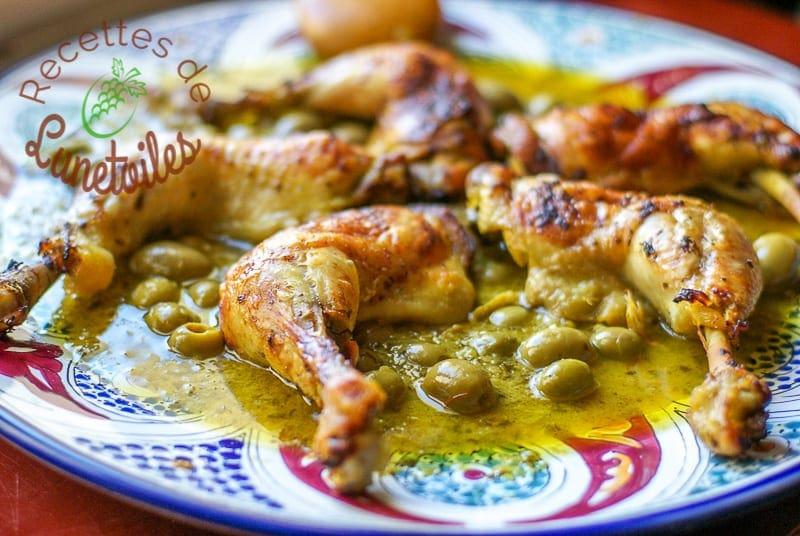 Cuisine Marocain Simple : Poulet mhamer à la marocaine amour de cuisine