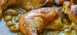 poulet mhamer à la marocaine