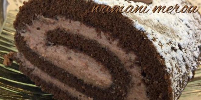 Gâteau roulé à la mousse au chocolat
