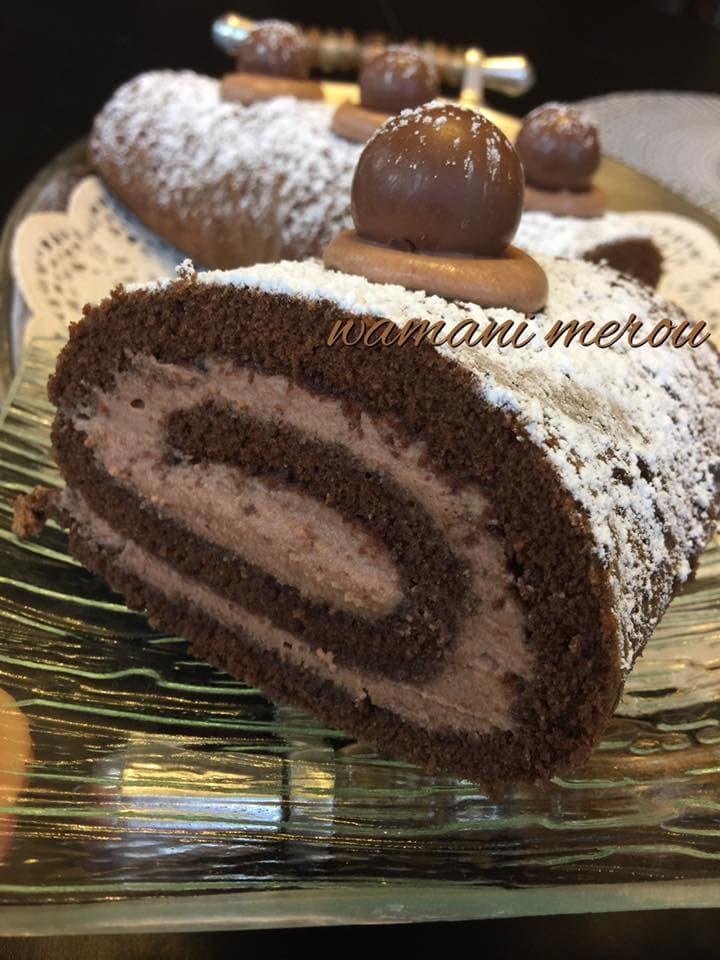 G teau roul la mousse au chocolat amour de cuisine for 1 amour de cuisine