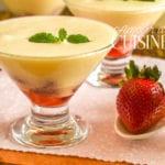sabayon aux fraises