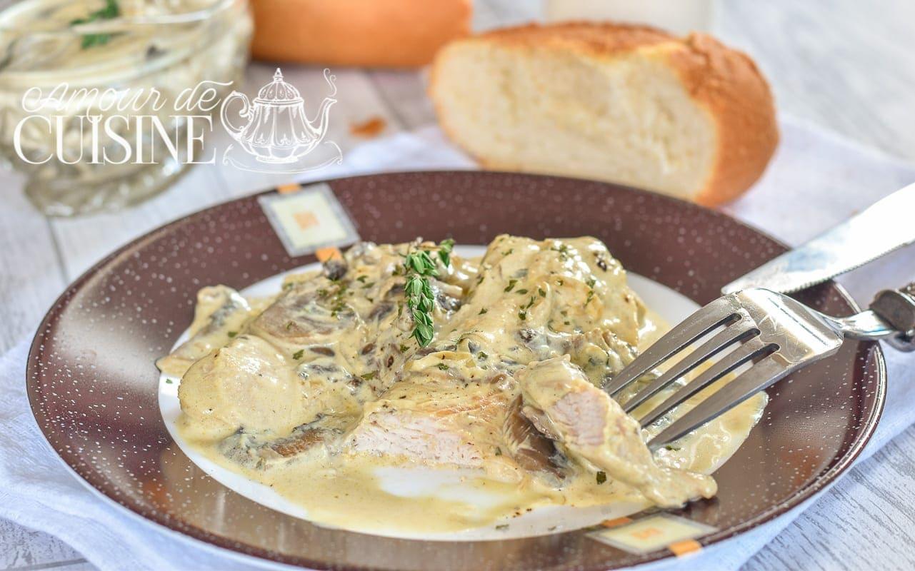 sauce champignons