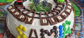 gateau d'anniversaire pour garçon décoration facile