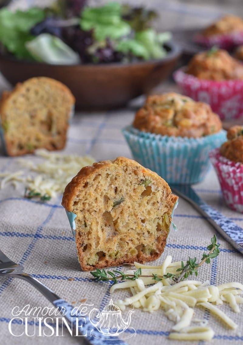 muffins salés aux légumes 2