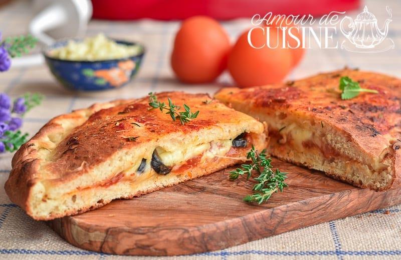 pizza calzone amour de cuisine