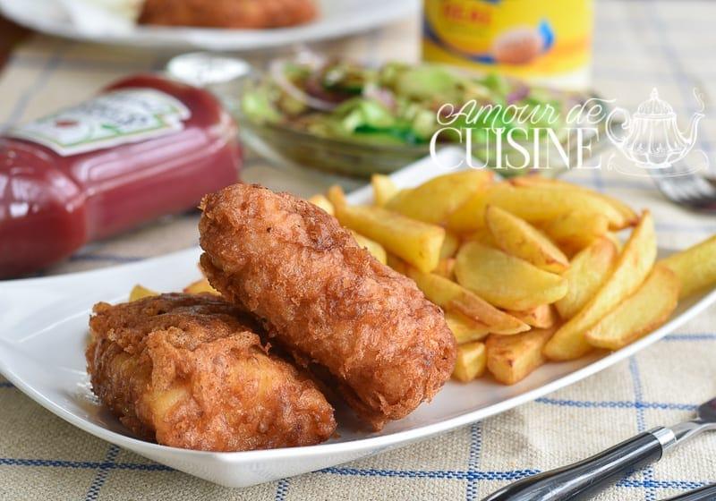 Recette fish and chips amour de cuisine - Recette amour de cuisine ...