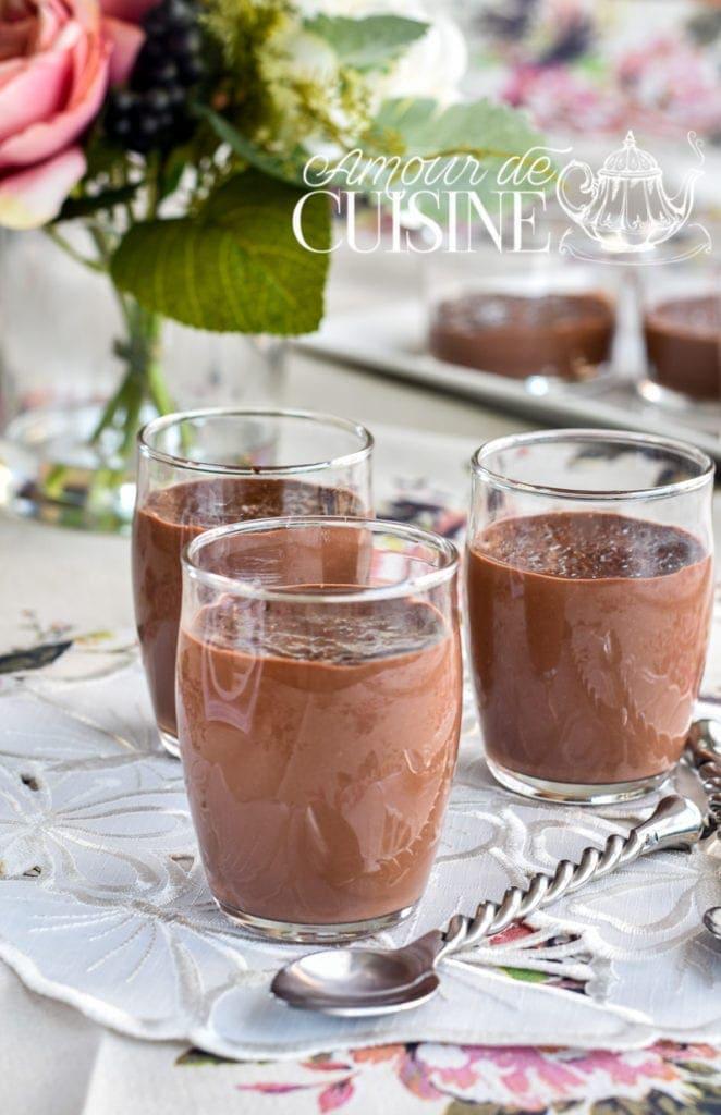 Recette crème dessert au chocolat façon danette 1