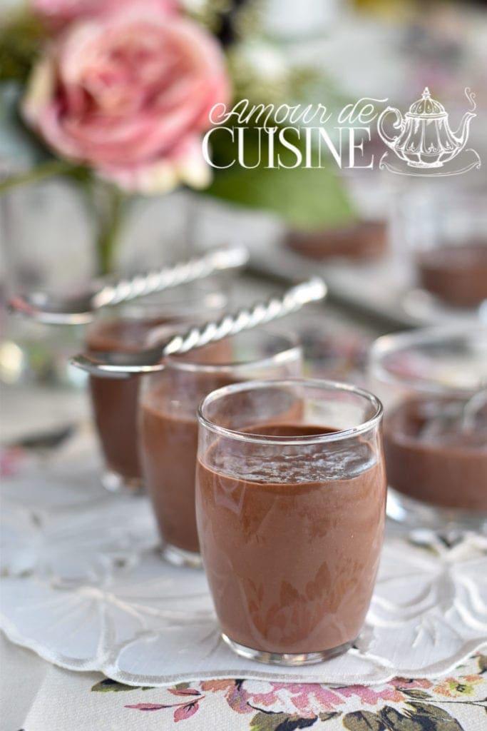Recette crème dessert au chocolat façon danette