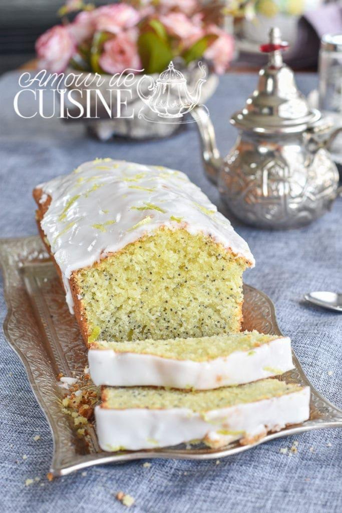 cake moelleux au citron et graines de pavot 1