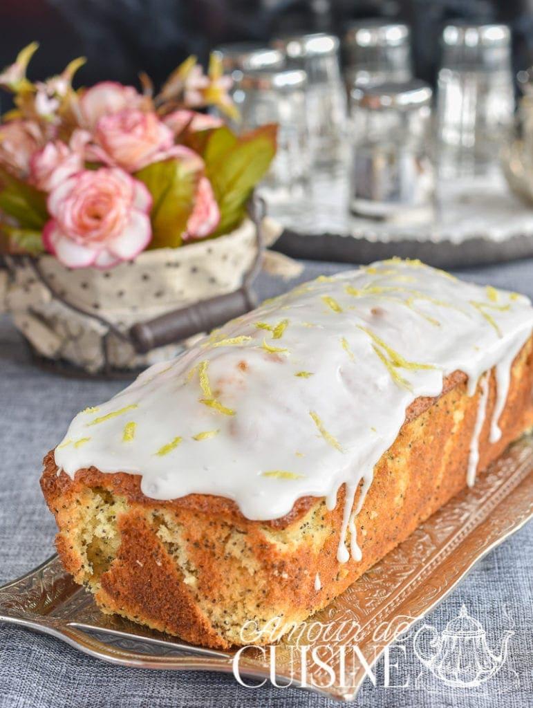 cake moelleux au citron et graines de pavot 2