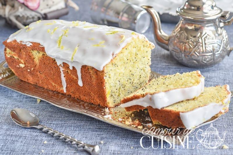 Cake Moelleux Au Citron Et Graines De Pavot Amour De Cuisine