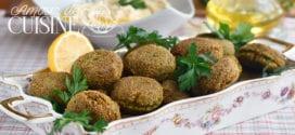 recette falafels libanais maison facile