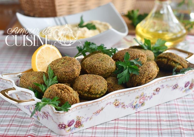 falafels libanais fait maison facile
