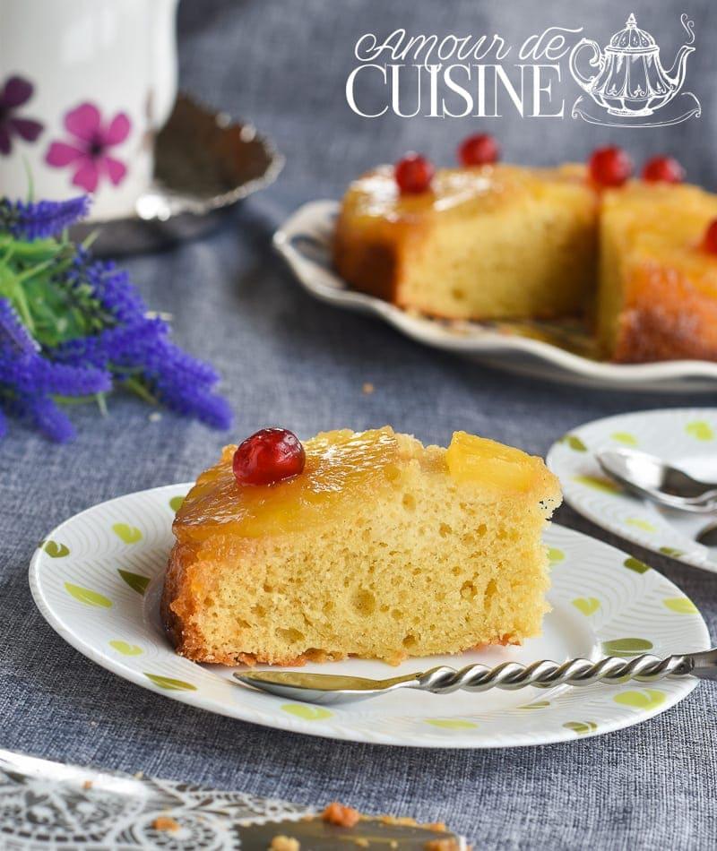 G teau a l 39 ananas moelleux et facile amour de cuisine for 1 amour de cuisine