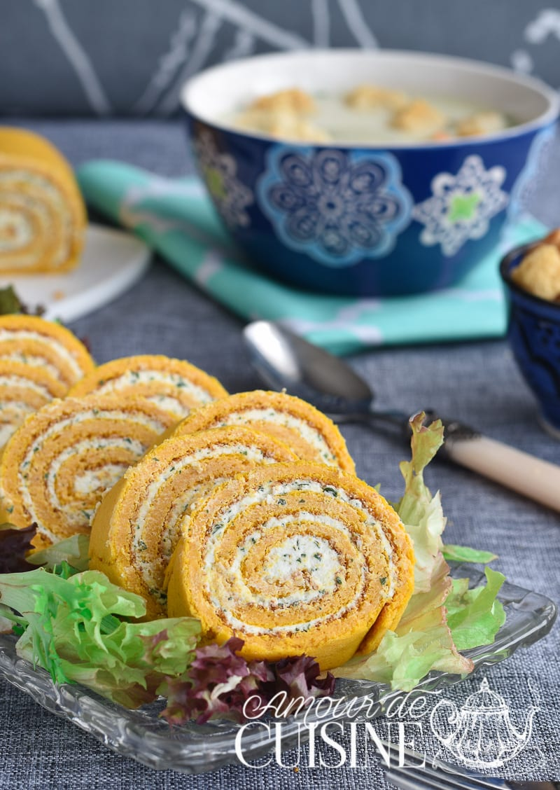 Roul de carottes au boursin amour de cuisine for Amoure de cuisine