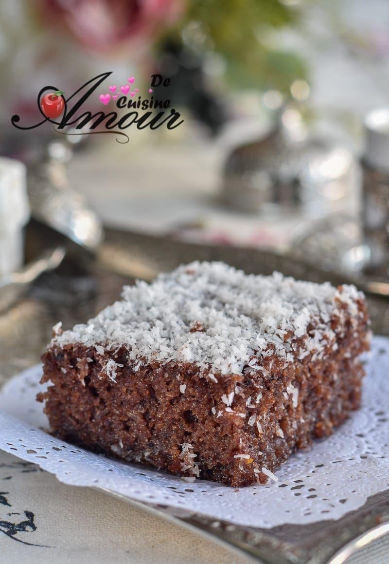 Choumicha Cake Au Chocolat