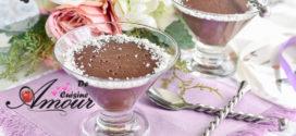crème au riz onctueuse au chocolat