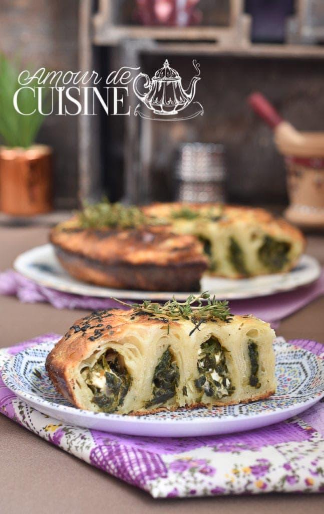 borek turque aux épinards et féta 1