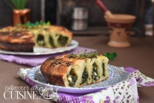 borek turque aux épinards et féta