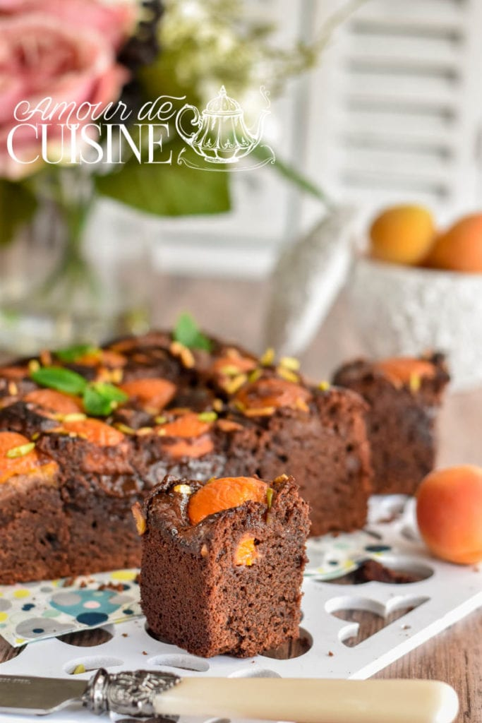 brownie aux abricots 1