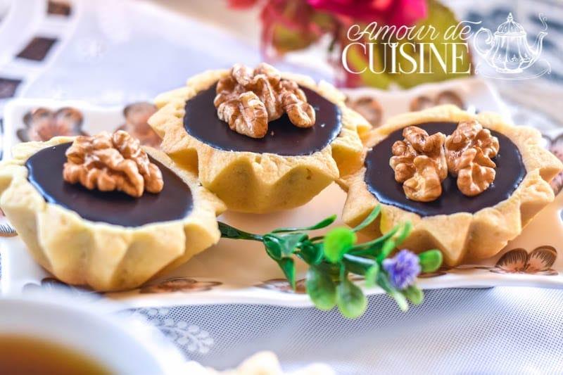 mini tartelettes caramel chocolat 1