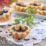 mini tartelettes caramel chocolat