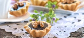 mini tartelettes caramel et chocolat