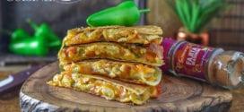 quesadillas au poulet et fromage