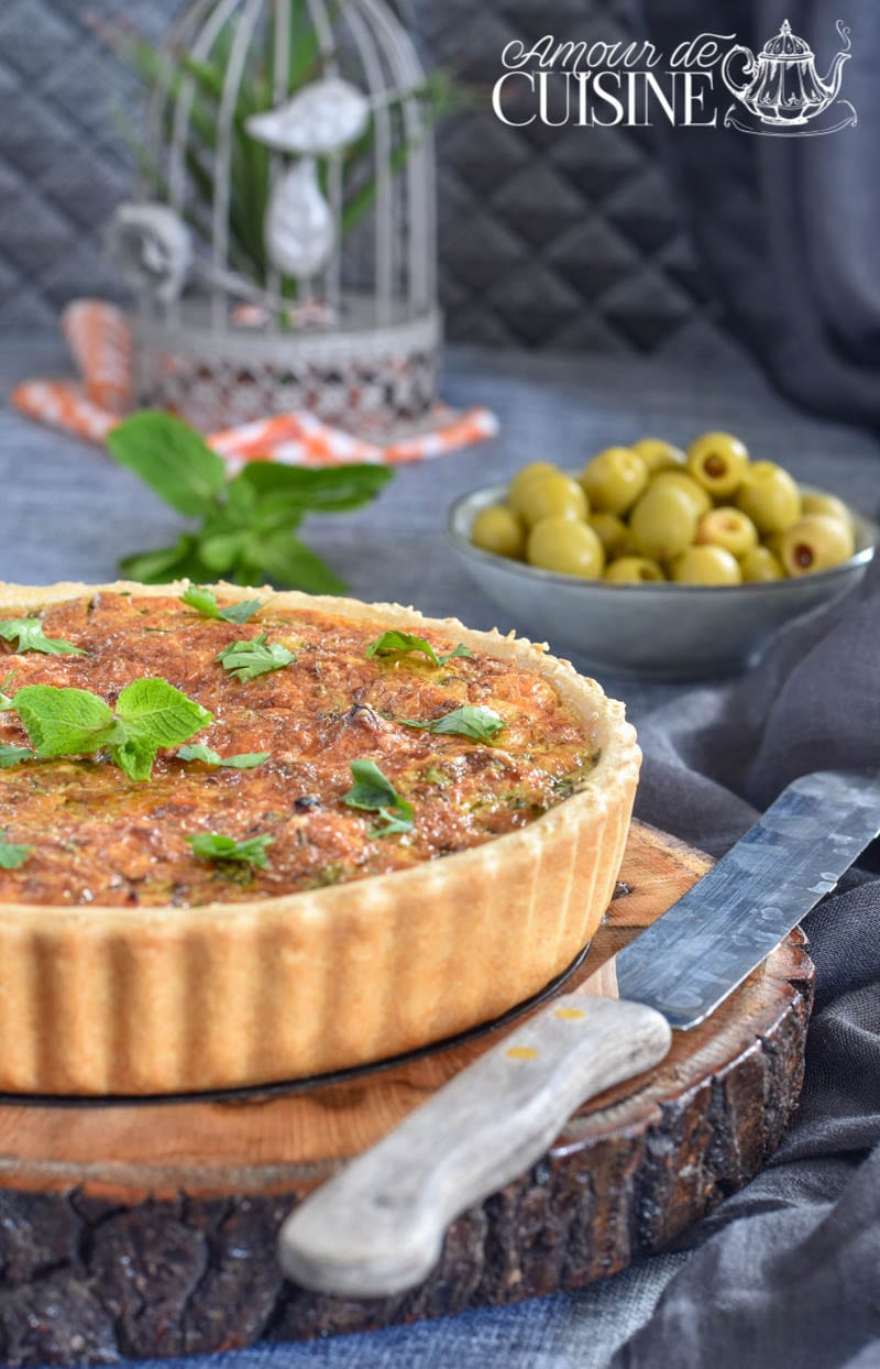 tarte de poulet au curry 2