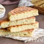 Recette de pain matlouh à la farine sans pétrissage