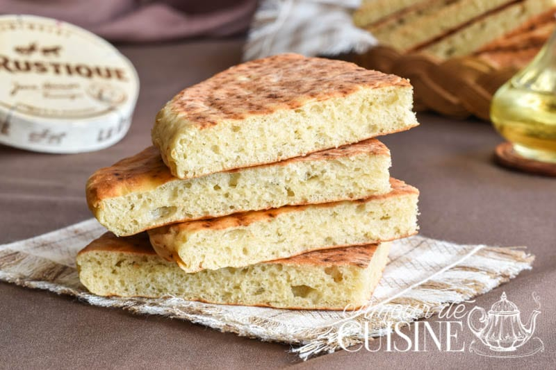 pain matlouh sans petrissage