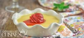 Flan pudding au potiron et lait de Soja